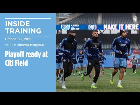 INSIDE TRAINING | Playoff ready at Citi Field