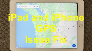 iPad And iPhone GPS Problem An…