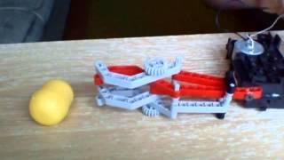 Робот рука в домашних условиях:))))