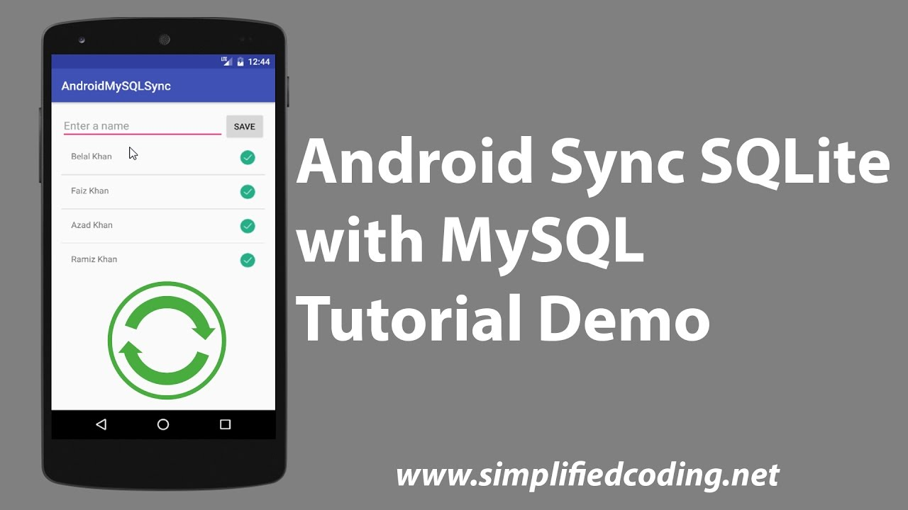 Android Sync SQLite Database with Server using PHP and MySQL