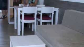 Mallorca Playa de Palma Hotel allsun Kontiki Hotel Playa - Appartment Zimmer Doppelbett Bad Küche