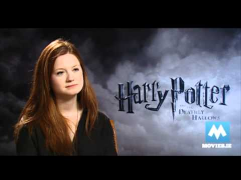 Bonnie Wright Ginny Weasley talks HARRY POTTER & her engagement to Jamie Campbell Bower