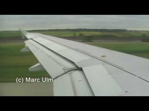Air France Airbus A320 Flight Stuttgart - Paris Charles de Gaulle