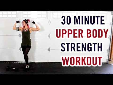 20 Minute Dumbbell Arms Workout at Home for Women & Men