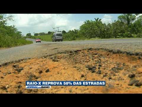 Raio-x aponta problemas graves nas estradas brasileiras