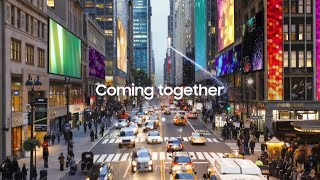 Samsung + Cisco: Future of Work. On Display