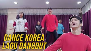 DANCE CHALLENGE! Ngedance KOREA Pake Lagu DANGDUT