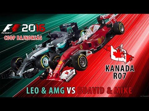 F1 2016 - Coop Bajnokság L!VE - Leo & AMG & BDávid & Mike - Kanada S01-R07 #9