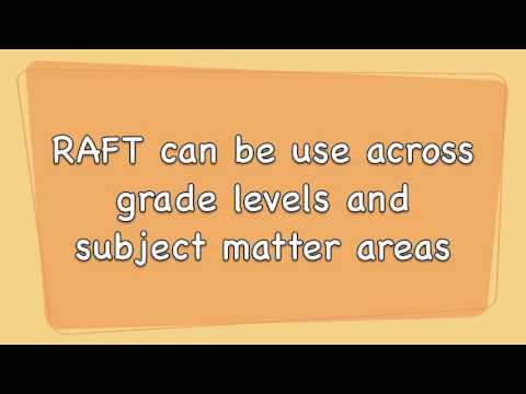 Raft Writing Strategy Youtube