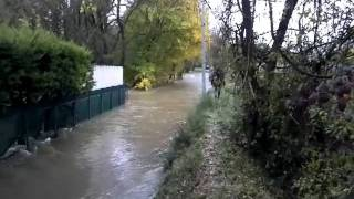 Inondations Sainte Anastasie sur Issole 2011