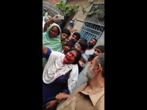 this woman caught in Lahore today , she kidnapped the children | the kids movie