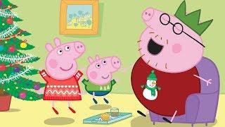 Peppa Pig Português Brasil | O PARQUE DE DIVERSÕES 🎈Feliz Natal 🎄 | HD | Desenhos Animados