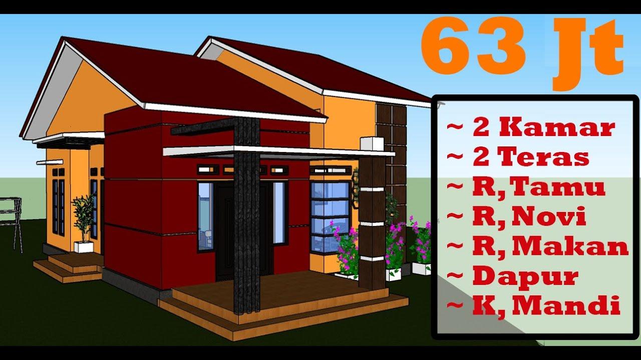 Desain Rumah 6x10 5 Meter Yang Minimalis Modern Dan Sederhana Youtube