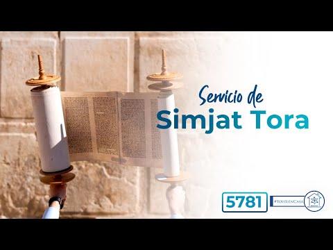 Servicio de Simjat Tora 5781 - Kehilat Yovel