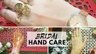"Pre Bridal ""Beauty"" Skin Care (Part 3) For Beautiful Hands Routine (Hand Care Before Wedding)"