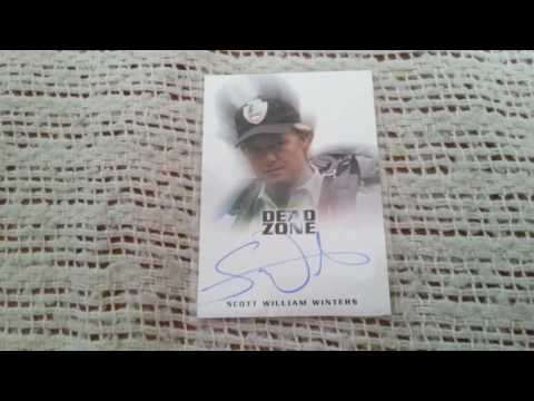 SCOTT WILLIAM WINTERS Actor  OZ,Dead Zone,Good Will Hunting Autograph Collection ing FREEZE