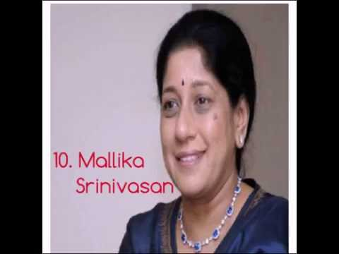 Top 10 successful people (Indian female)