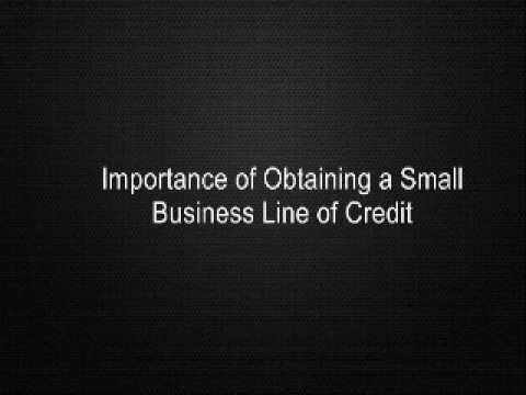 Importance of Obtaining a Small Business Line of Credit