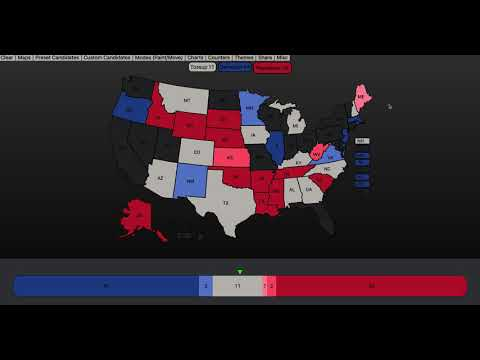 The 2020 Senate Elections As Of February 16th, 2019 [First Prediction]