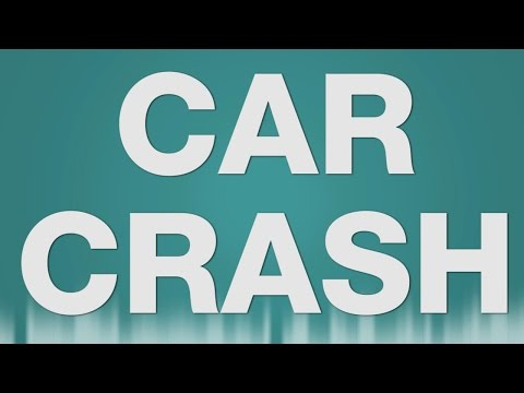Car Crash SOUND EFFECT - Auto unfall SOUNDS thumbnail