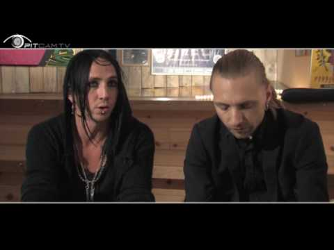 Backyard Babies - Interview by pitcam.tv