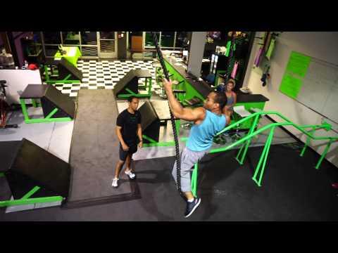UFC Fighters Attempt Ninja Warrior Obstacles