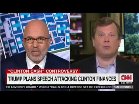 Peter Schweizer talks Clinton Cash on CNN