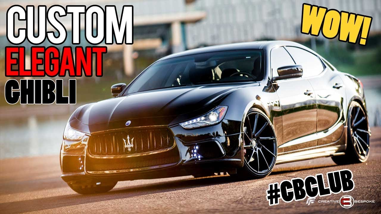 Maserati For Sale >> Maserati Ghibli Black Bison Edition Customized by Creative Bespoke - YouTube