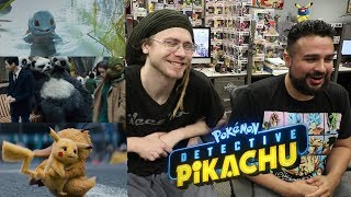 "CUTEST MOVIE EVER? ""What A Pikachu World"" Reaction! Detective Pikachu Trailer Reaction!"