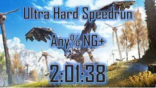 Horizon Zero Dawn Speedrun: Any% NG+ (Ultra Hard) in 2:01:38 [Former WR]