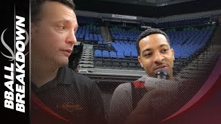Cj mccollum of the trail blazers: how he breaks down his man