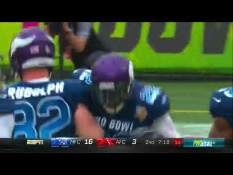 Harrison Smith 79-Yard Pick 6! | 2018 Pro Bowl Highlights