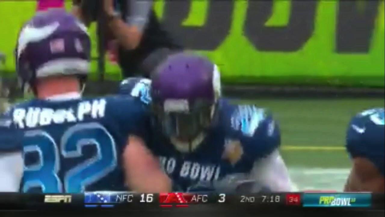 2260d619152 Harrison Smith 79-Yard Pick 6!   2018 Pro Bowl Highlights - YouTube