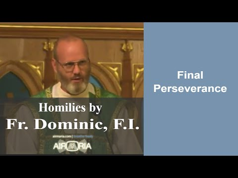 Oct 01 - Homily - Fr Dominic: Final Perseverance