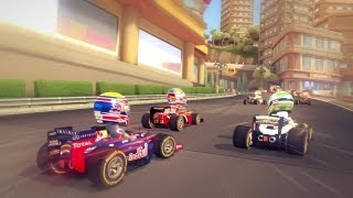 PS3 HD F1 Race Stars PlayStation 3 Gameplay Monte carlo Red Bull HD720P