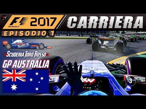 F1 2017 Carriera #01 Toro Rosso 🏁 GP AUSTRALIA 🏁 Albert Park Melbourne