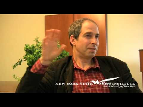 James Lasdun at the NYS Writers Institute in 2009