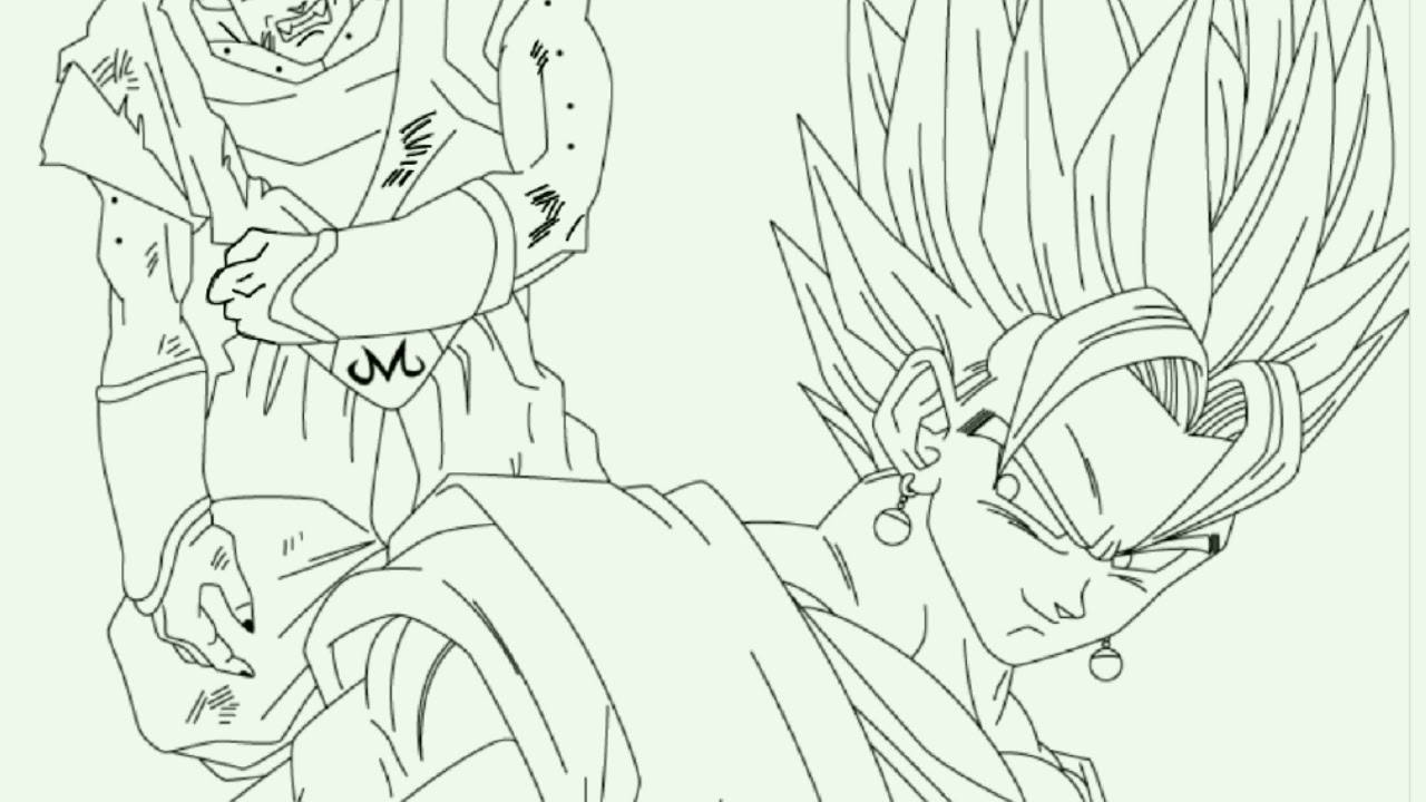 Goku Vs Madimbu Dragon Ball Z Desenho Feito Pelo Flipa Clip Link