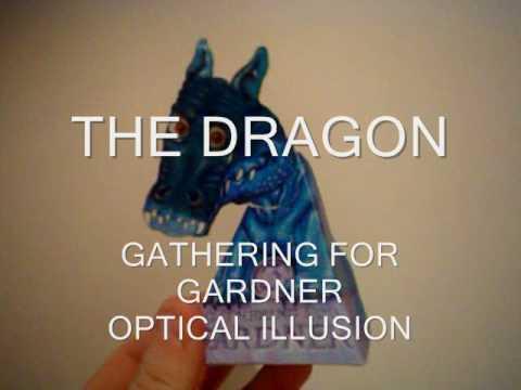 Optical Illusion Gathering For Gardner The Dragon Youtube
