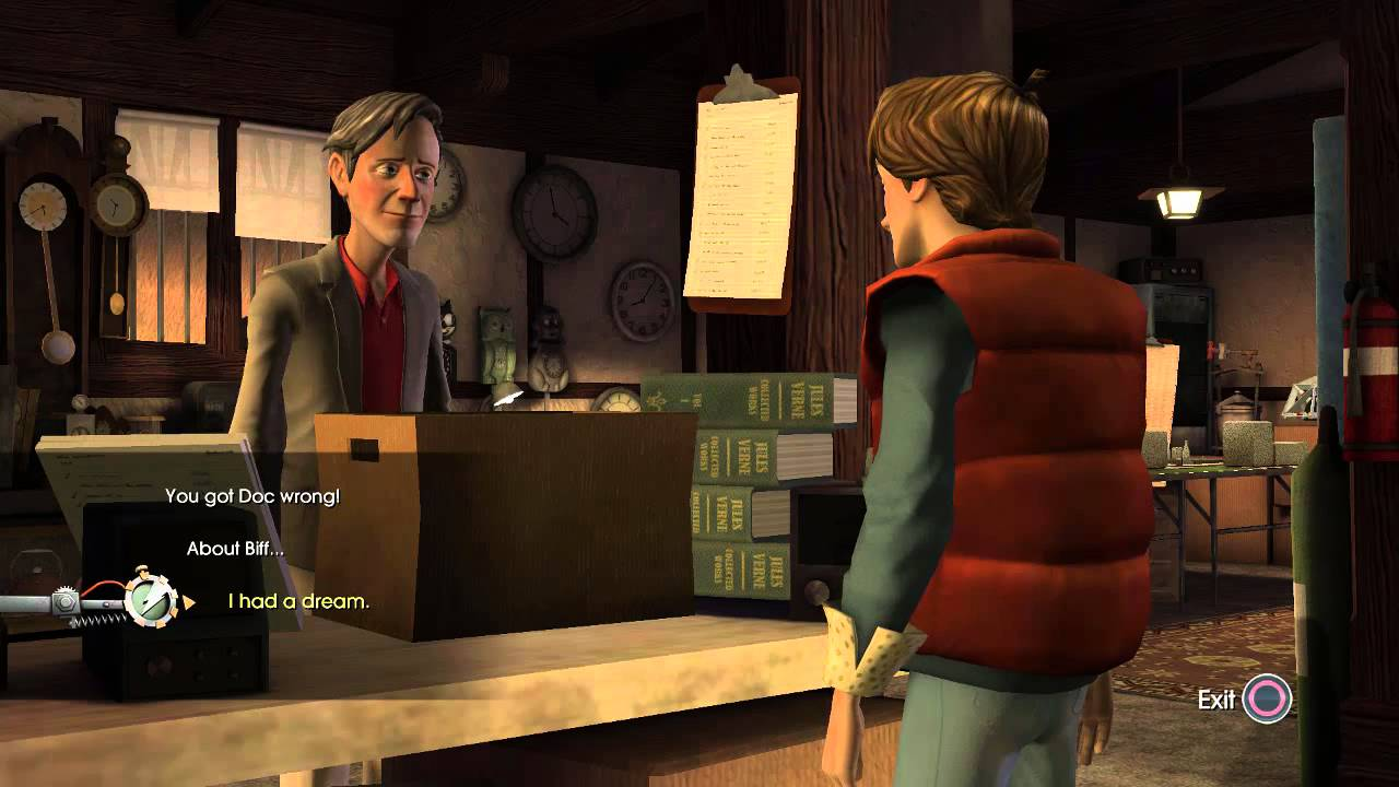 Back to the Future: The Game Walkthrough - Episode 2: Get ...