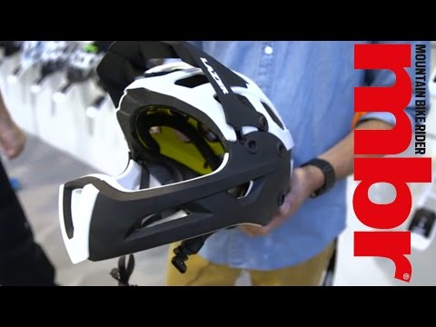 Lazer's new Revolution FF helmet converts between open and full-face | MBR Magazine