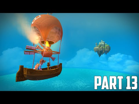 Oceanhorn: Monster of Uncharted Seas - 100% Walkthrough Part 13 [PS4] –  Sky Island