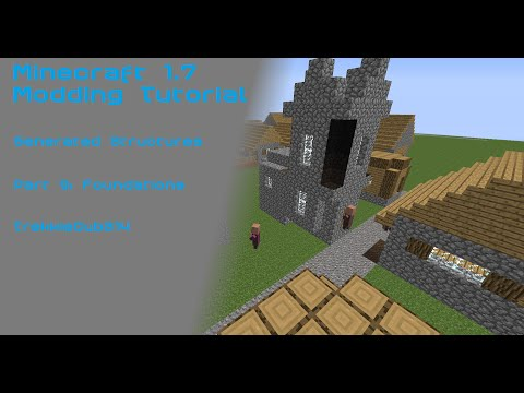 Modding Tutorial: Generated Structures Part 9 - Foundations
