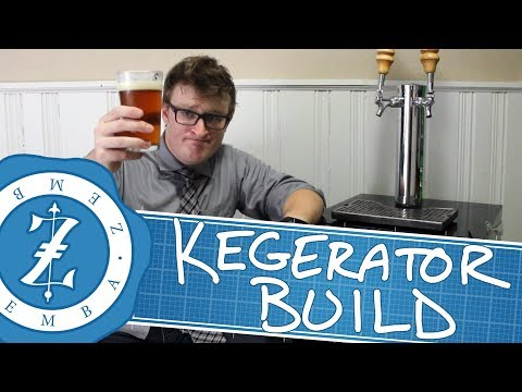 Kegerator Build with Fridge Teardown