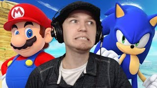 Let's Watch DEATH BATTLE | Mario VS Sonic (2018)
