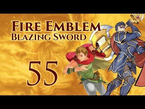 Part 55: Let's Play Fire Emblem 7, Hector Hard Mode Ranked Walkthrough - Chapter 30