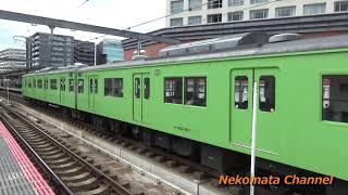 103系 JR奈良駅発車 2019年1月3日 vol.004 Nekomata Railway Snap