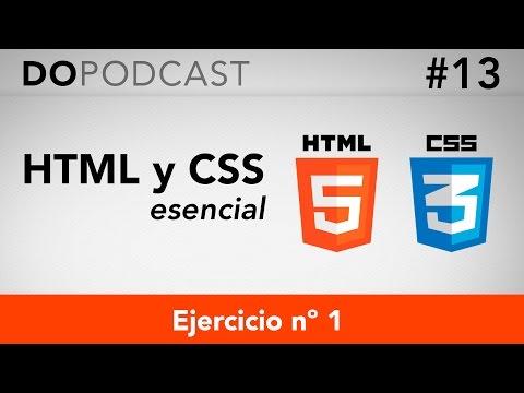 HTML Y CSS Esencial #13 - Ejercicio Nº 1