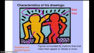 Keith Haring Social Issue Art Project