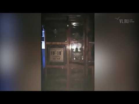 "VL.ru - сгоревший ТЦ ""Максим"" изнутри Владивосток"